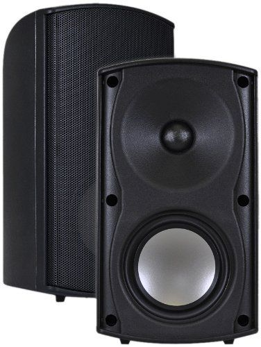 Osd Audio Ap490 Visual Performance Outdoor Patio Speakers Pair Black By Osd Audio 44 61 The Ap490 Patio Speakers Will Provide Excellent Sound For You Video