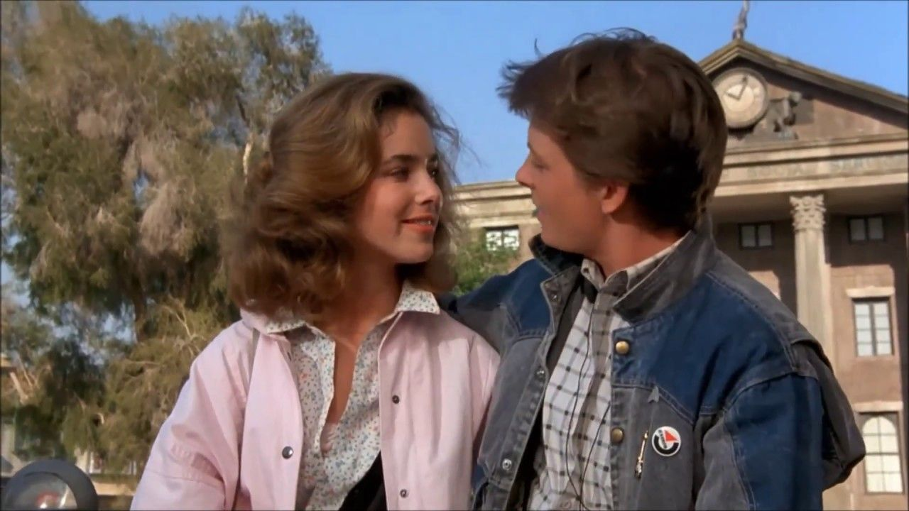 The Power Of Love Scene From Back To The Future 1985 Feeling