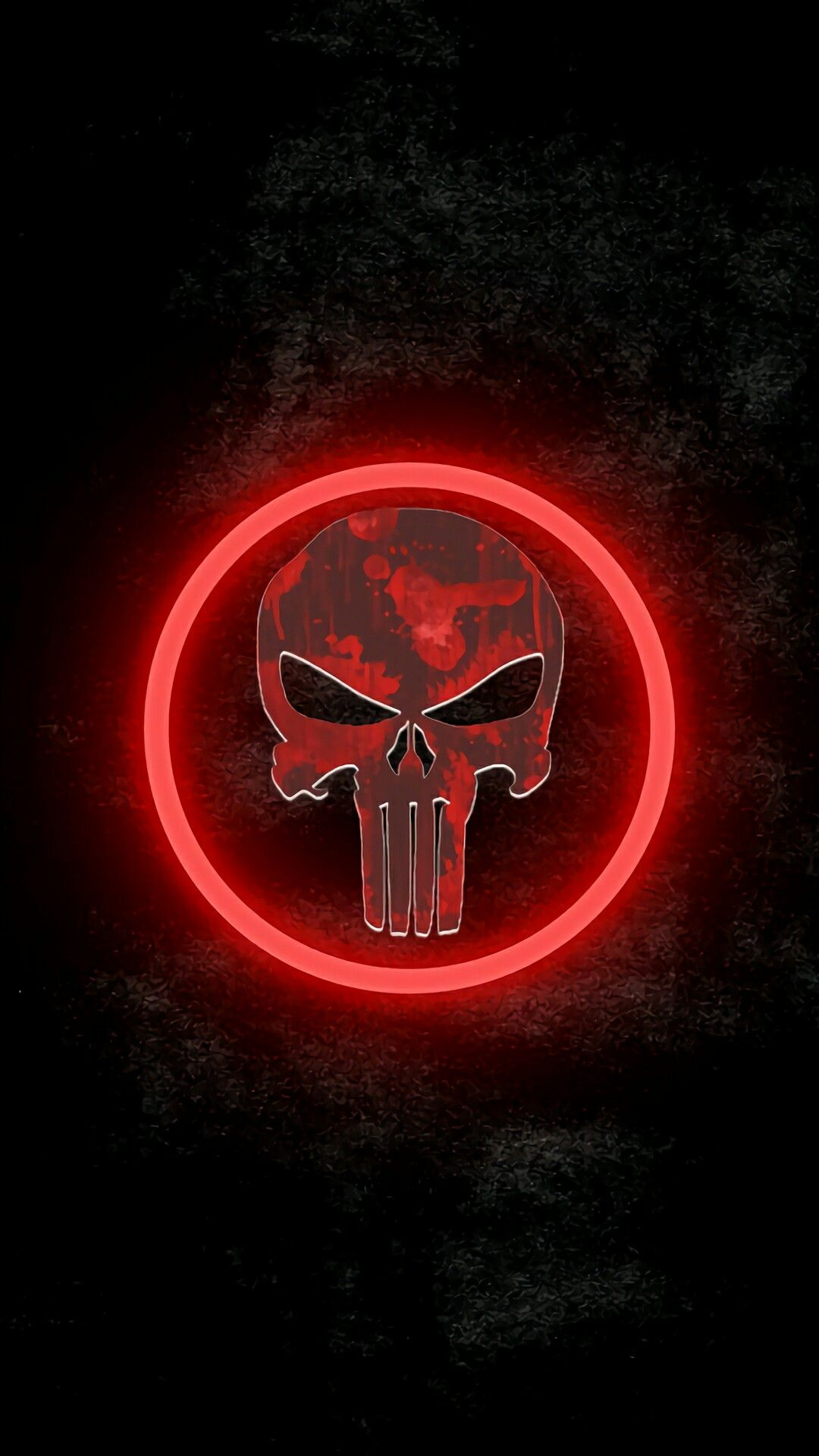 And The Punishers Gun Barrel Glows Blood Red Marvel Punisher