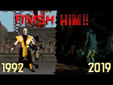 Click2listen The Evolution Of Mortal Kombat S Finish Him 1992 2019 Youtube Mortal Kombat Finish Him Finish Him Mortal Kombat