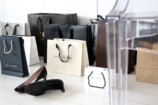 homevialaura #shopping #paper #bags