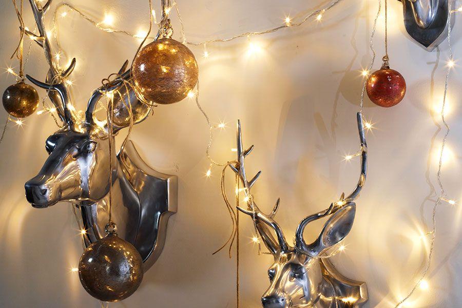 """Accent Decor - Ariel Ornament 5"""" Copper"""