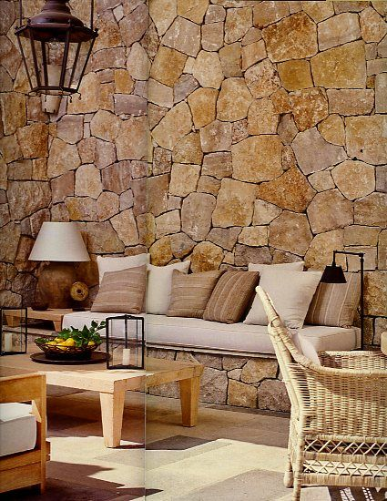 Mark D Sikes Chic People Glamorous Places Stylish Things Page 7 In 2020 Stone Walls Interior Home House Design
