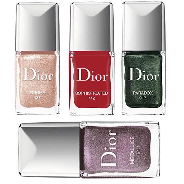 Dior Fall 2017 Marytushik Instagram Nail Polish Nails