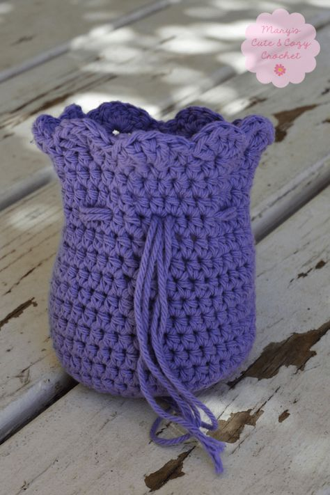 Little Treasures Crochet Pouch