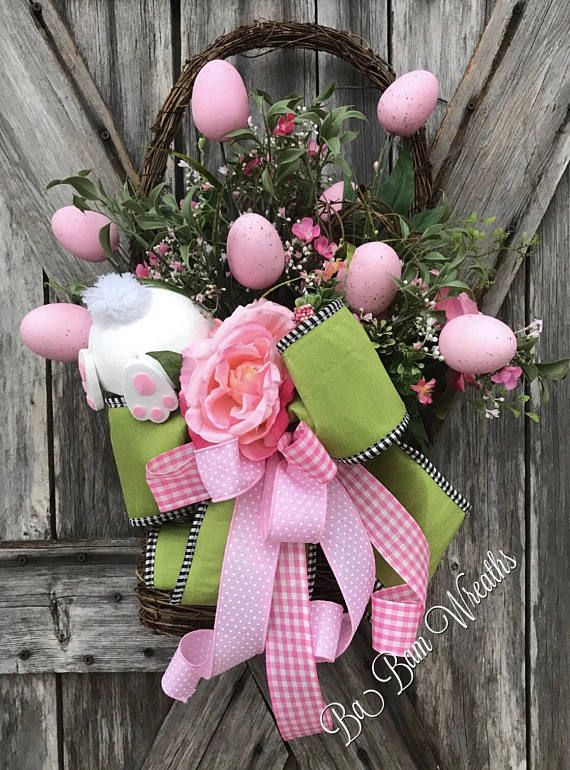 Easter wreath easter door hanger easter floral easter easter wreath easter door hanger easter floral easter arrangement easter centerpiece spring floral spring arrangement spring colors easter baskets negle Choice Image
