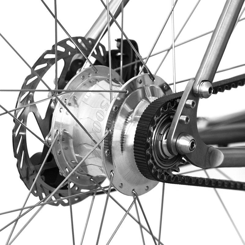 Budnitz Bicycles Internally Geared Hub Technology Bike Bicycle