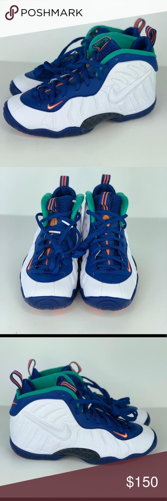 sale retailer 12083 1e826 Nike Little Posite Pro GS 'Neptune Green' Sz 3.5Y Brand new ...