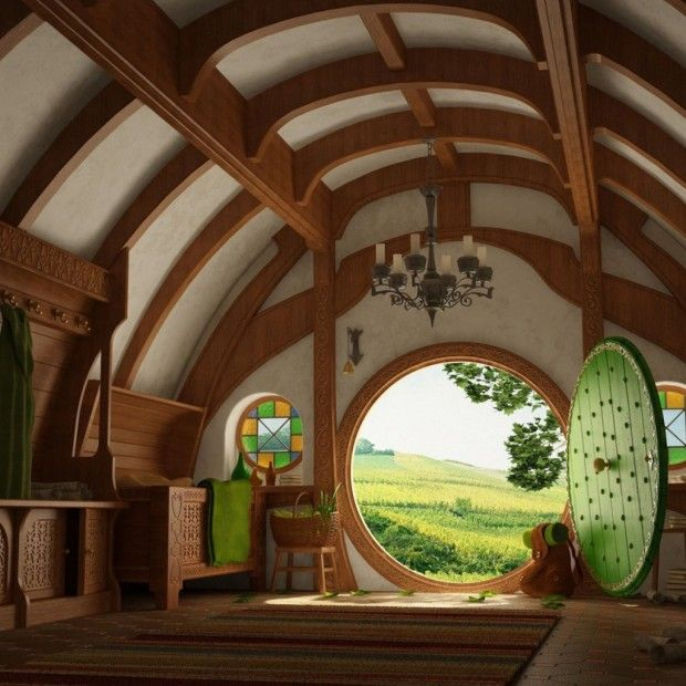 Hobbit Home Part - 22: Not The Place, But Most Definitly My Dream Home - Interior, The Hobbit House,  New Zealand