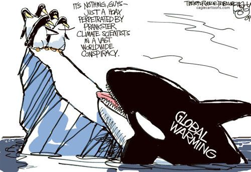 satire on global warming Sierra – may/june 2001  a modest proposal to stop global warming while evidence continues to mount that humans are heating the globe, the world's nations squabble over a complex fix too timid to solve the problem.