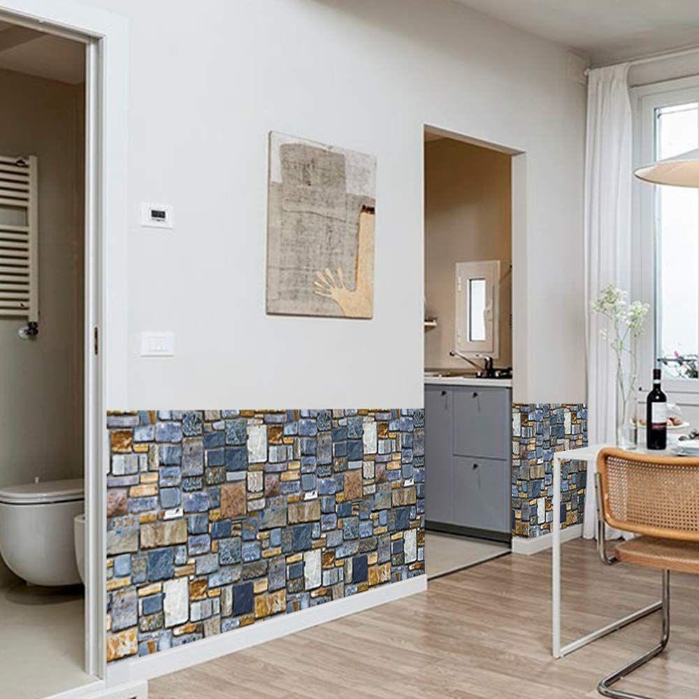 Stone Wallpaper Waterproof SelfAdhesive Wallpaper PVC
