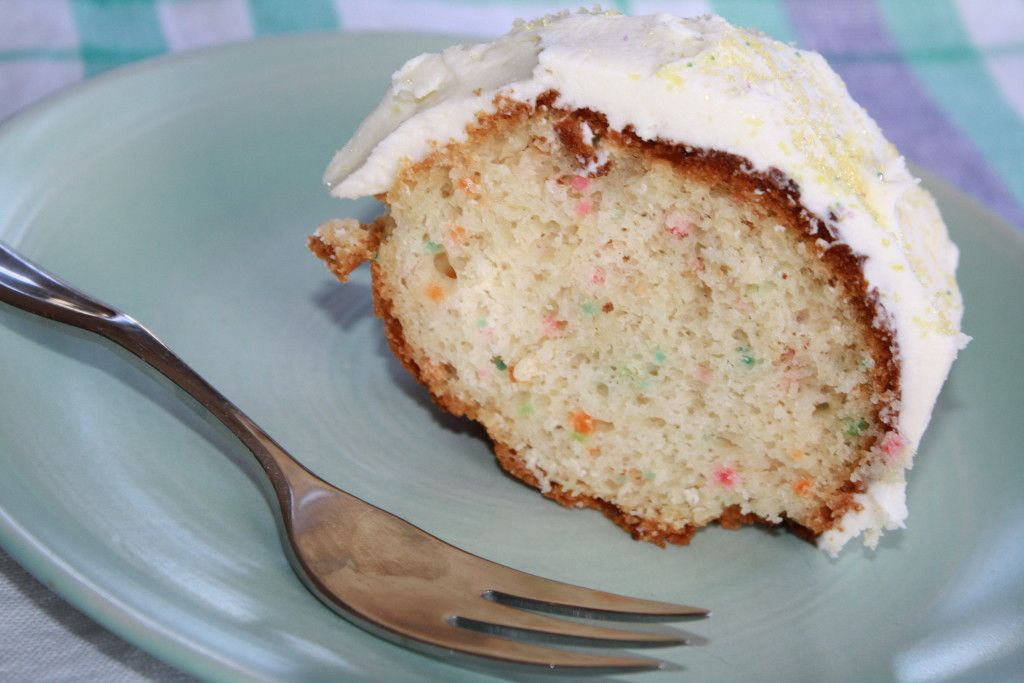 Lemon Confetti Bundt Cake | Our Eating Habits