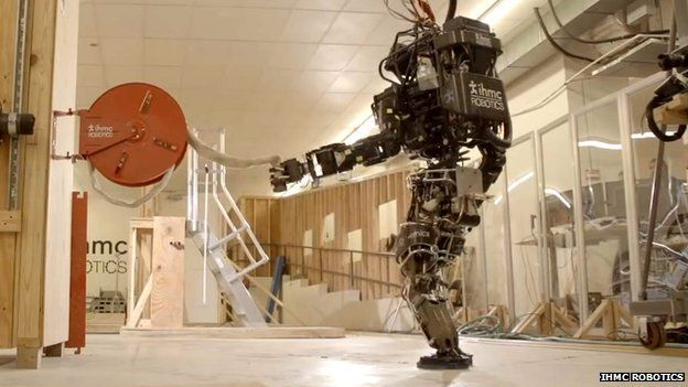 Disaster Droids Face Off In The Darpa Robotics Challenge Challenges Boston Dynamics Disaster Response