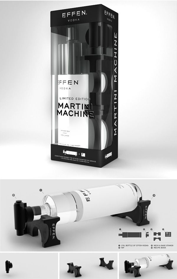 Wow! how about this Martini machine #packaging Right up your alley Laura PD