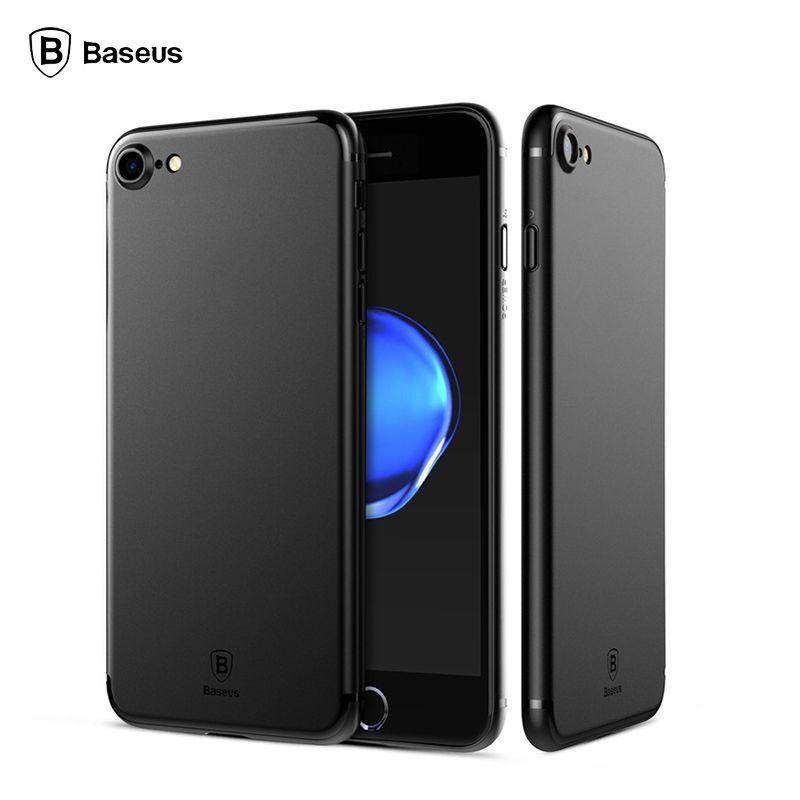 Baseus originele telefoon case voor iphone 7 ultra dunne pp gevallen voor apple iphone 7 plus mode flexibiliteit achterkant