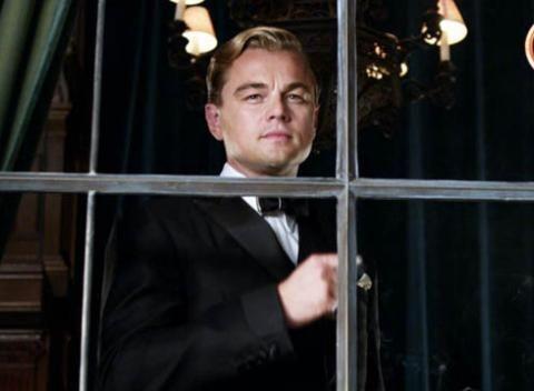 Leonardo Dicaprio as the Great Gatsby