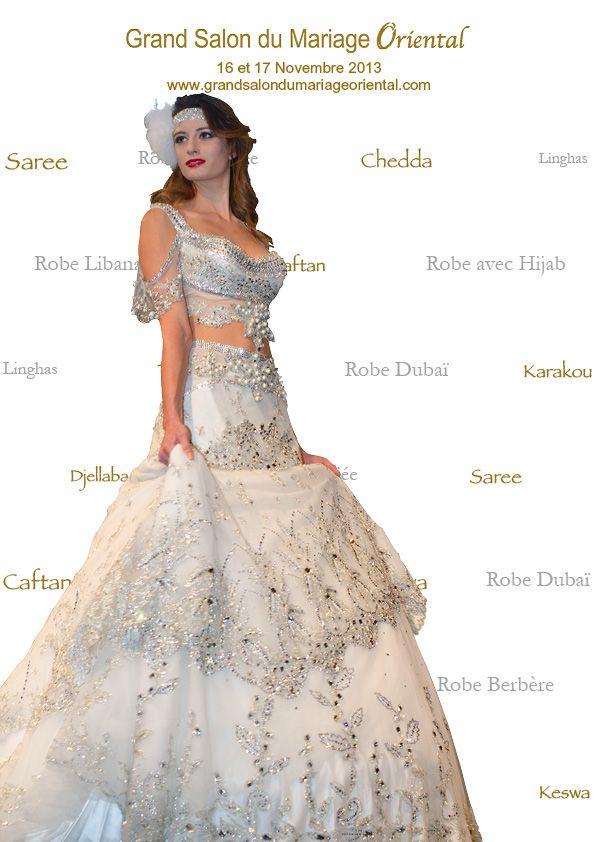 Caftan keswa caracou chedda arabic fashion fashion mode mode oriental d fil fashion - Salon du mariage oriental ...