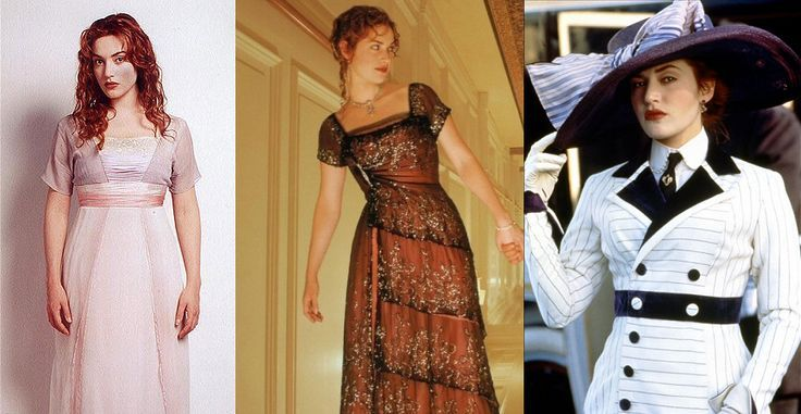 Trang Phục Trong Phim Titanic Sx Năm 1997 Rose Costume Designer Dresses Sketches Beautiful Dresses