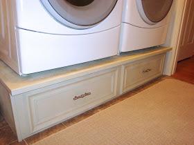 Diy Washer Dryer Pedestal A Laundry Life Saver Amenagement Salle De Bain Idees Pour La Maison Maison