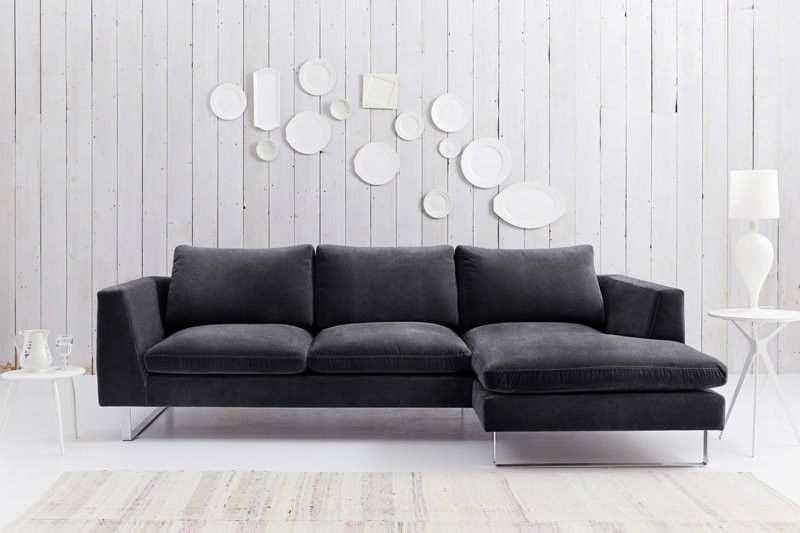 Modern Corner Sofa With Chaise Uk Love Your Home Jasper Modern Sofa Corner Sofa Chaise Sofa Corner Sofa