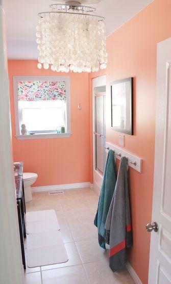 150 Bathroom Makeover Bathroom Wall Colors Bathroom Color Schemes Bright Bathroom Colors