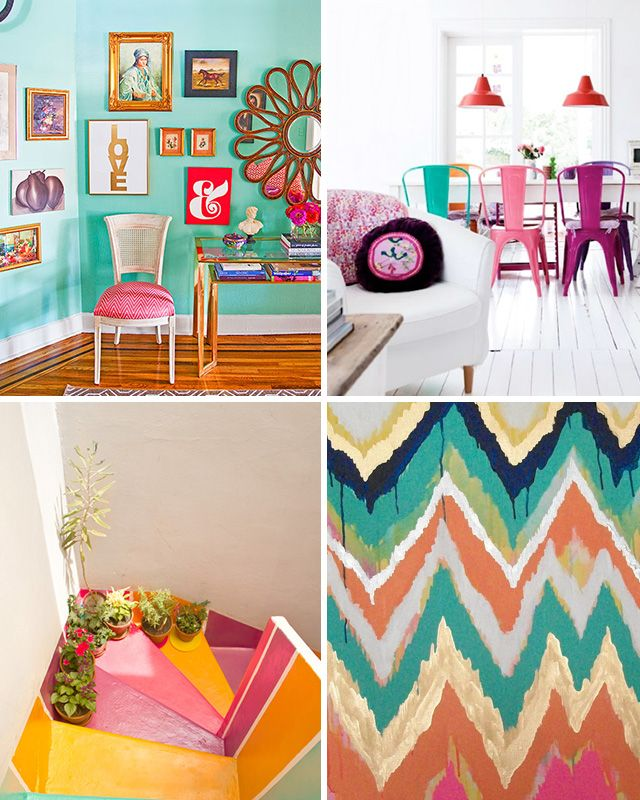summer interior accents