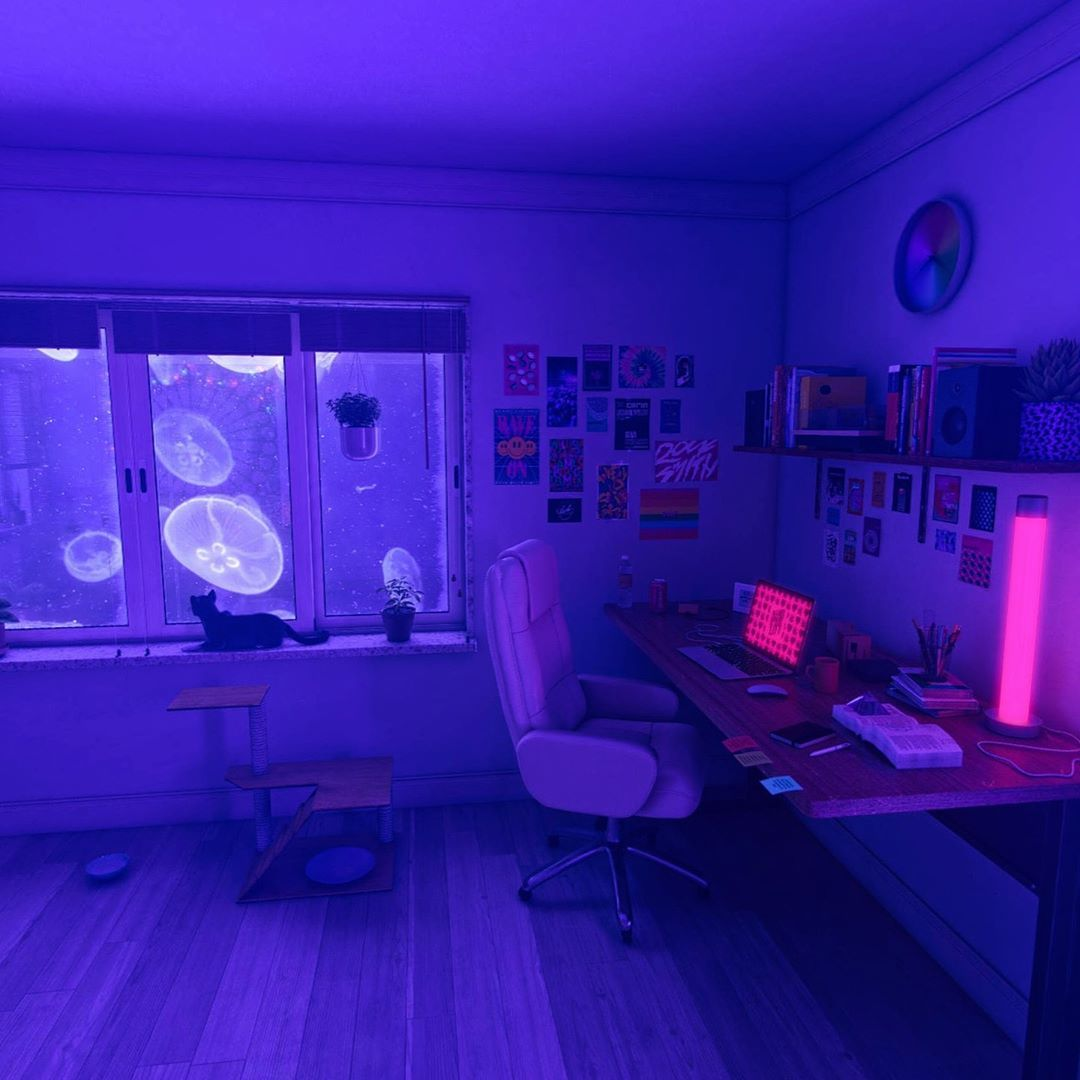 """Best V A P O R W A V E On Instagram """"Do You Like This Room 640 x 480"""