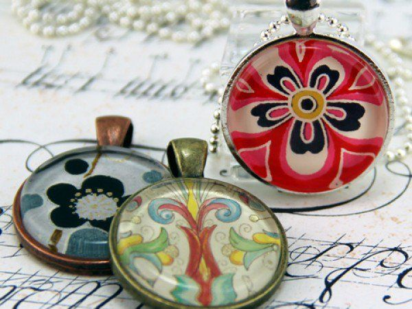 Annie howes create your own pendant necklace kit is smart buy and annie howes create your own pendant necklace kit is smart buy and fun way to make a high quality craft a great gift for a girlfriend or a fun act aloadofball Images