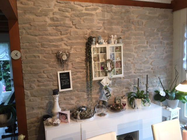 Gestaltung Wand mit Stein Lajas Designideen Steinwände - wand gestalten mit steinen