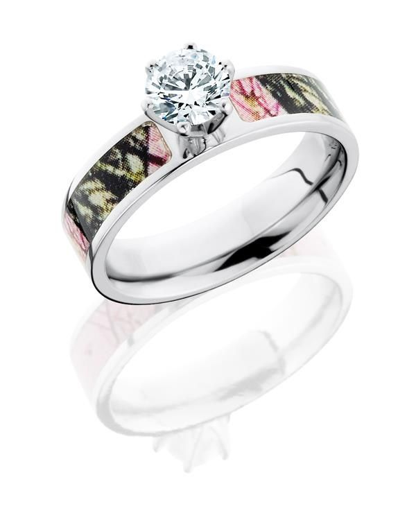 camo diamond wedding rings for her diamond camo engagement ring country girl jewlary - Pink Camo Wedding Ring