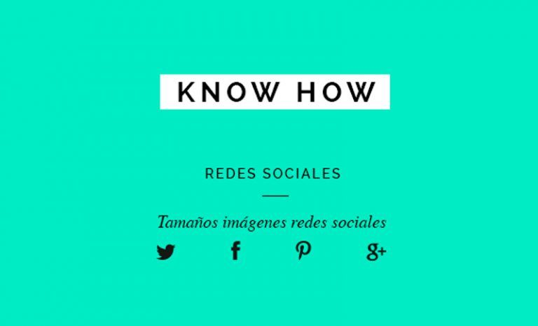 Ajustar los tamaños de imagen a las redes sociales (actualizado abril 2018