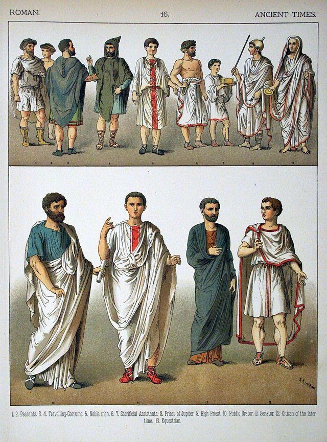 d5eb6eb3b5 016 - Costumes of All Nations (1882) - Abbigliamento nell'antica Roma -  Wikipedia