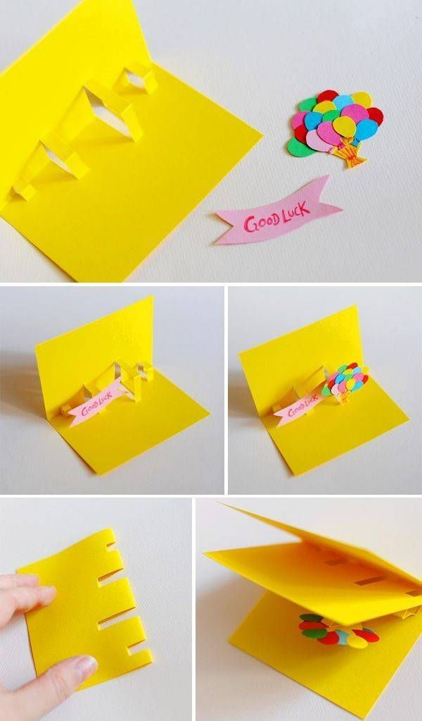 Pin by homemade man on pop up paper pinterest diy cards diy pop up card ideas diy ideas house for kids haus diy cards kids m4hsunfo