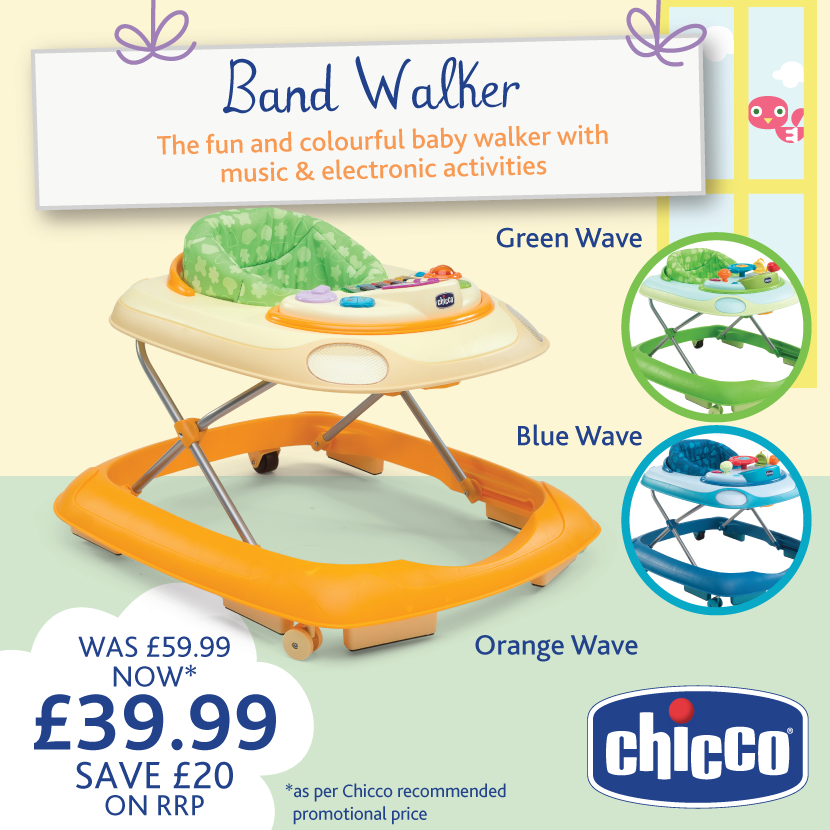 This Baby Band Walker Is Only   A Saving Of Available In Orange, Green,  Blue U0026 Yellow   This Walker Is Ideal For Any Little Tot!