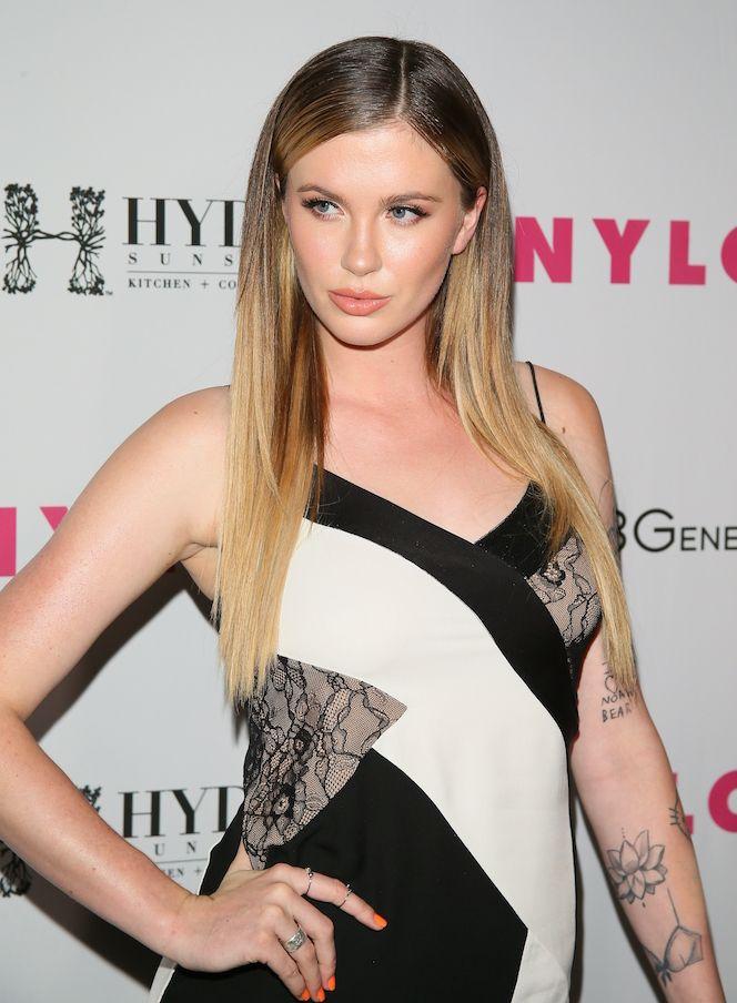 Alec Baldwins daughter Ireland goes topless to flaunt her