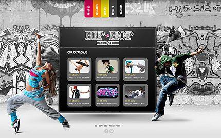40+ Dance Studio Website Templates | Dance Studio | Pinterest ...