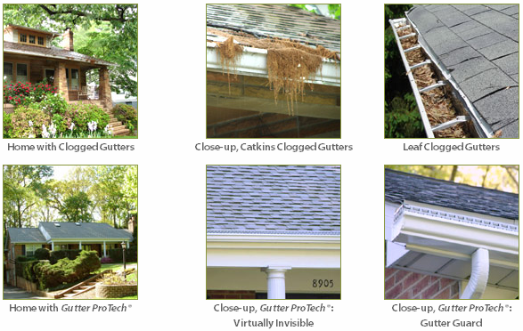 What A Difference Gutter Protech Can Make On Your Home Gutter Protection Gutter Residential Roofing