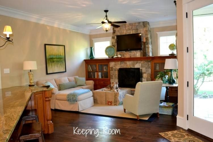 Keeping Room Off Kitchen Decorating Ideas Keeping Room Kitchen Fireplace House