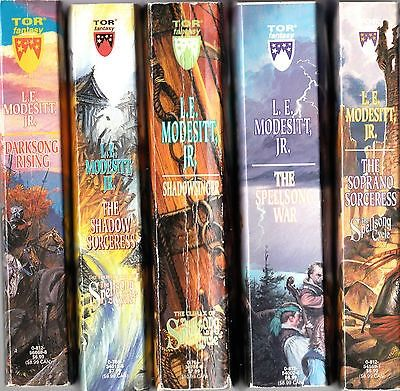 nice Spellsong Cycle set of 5 fantasy paperback novels by L.E. Modesitt Jr. vg - For Sale View more at http://shipperscentral.com/wp/product/spellsong-cycle-set-of-5-fantasy-paperback-novels-by-l-e-modesitt-jr-vg-for-sale/