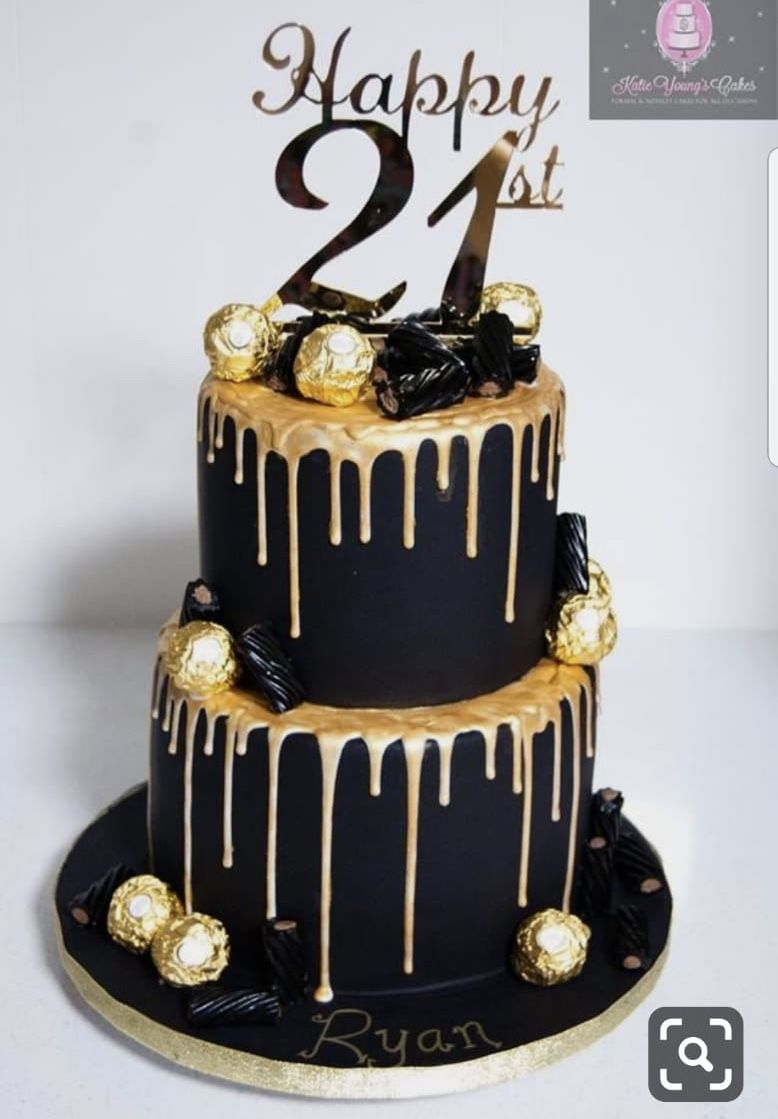40th Birthday Ideas For Women Cake In 2021 Tiered Cakes Birthday 21st Birthday Cakes Golden Birthday Cakes