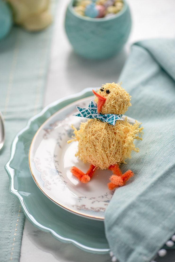 DIY Easter Napkin Rings Easter, Easter crafts, Chocolate
