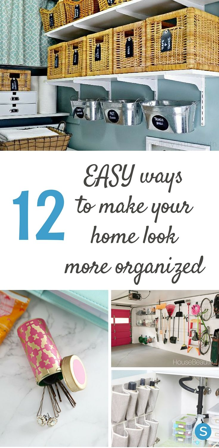 Uncategorized How To Make Your Room More Organized 12 easy ways to make your home look more organized than it really is
