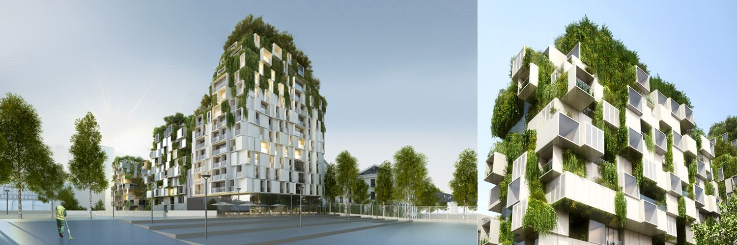 chartier corbasson architectes = logements ZAC massena, paris ...