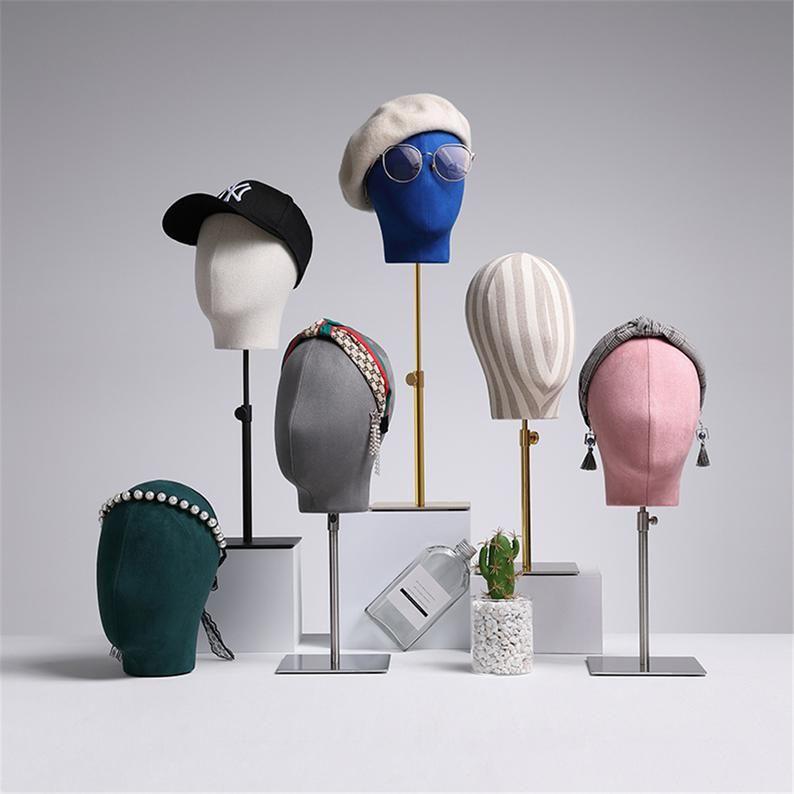 Adjustable Mannequin Holder Stand Mannequin Head Stand Metal Hat Stand Hat Display Stand Craft Display Hat Block Hat Holder Ks905 In 2021 Hat Display Adjustable Mannequin Mannequin Head Stand