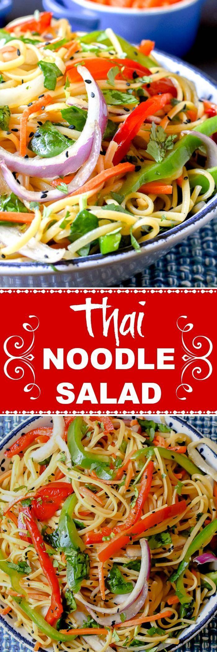 Photo of Thai Noodle Salad – Flavor Mosaic