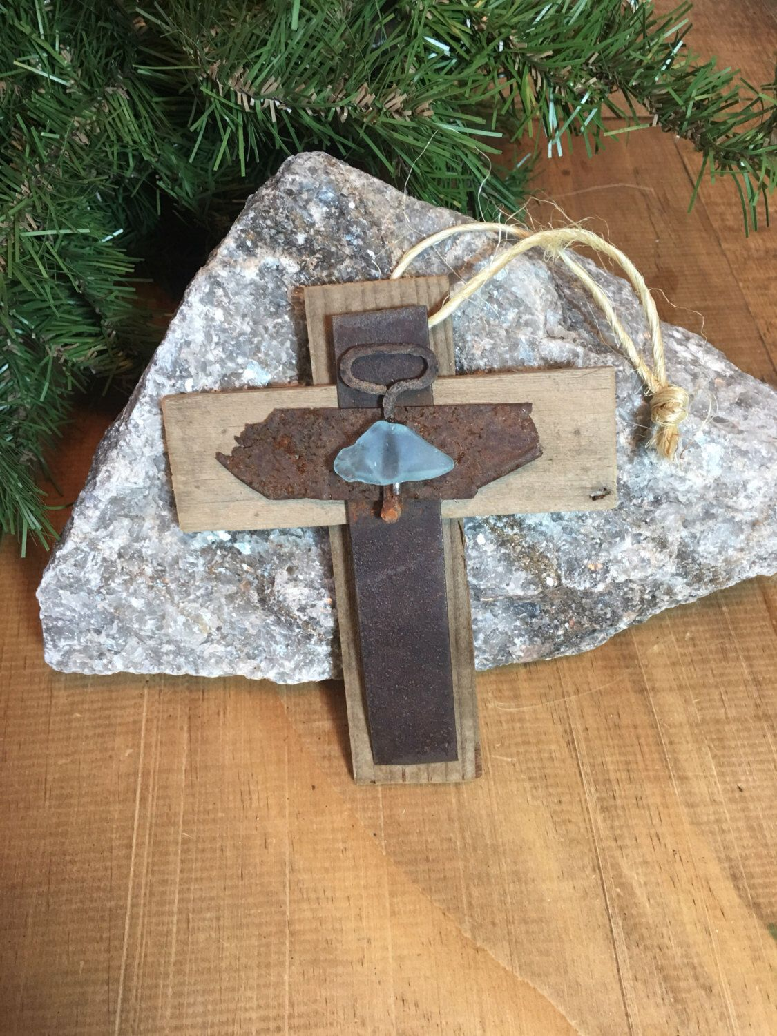 A personal favorite from my Etsy shop https://www.etsy.com/listing/473082384/handmade-primitive-unique-rusty-rustic