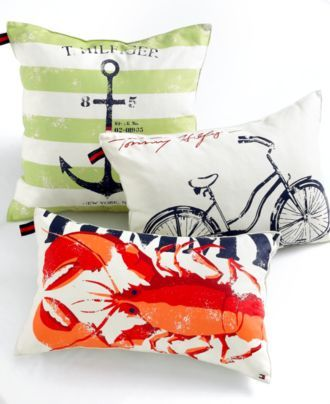 Tommy Hilfiger Bedding Decorative Pillows Macy's SummerDreams Delectable Tommy Hilfiger Decorative Pillows