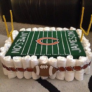 football field cakes designs