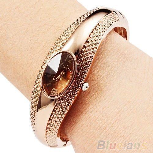 Vind meer Women's Wristwatches informatie over vrouwen meisje mode gouden armband armband kristal polshorloge 02g4, Hoge Kwaliteit horloges evenement, Chinese armbanden indian Leveranciers, Goedkoop horloge telefoon van Donge Jia's store op Aliexpress.com