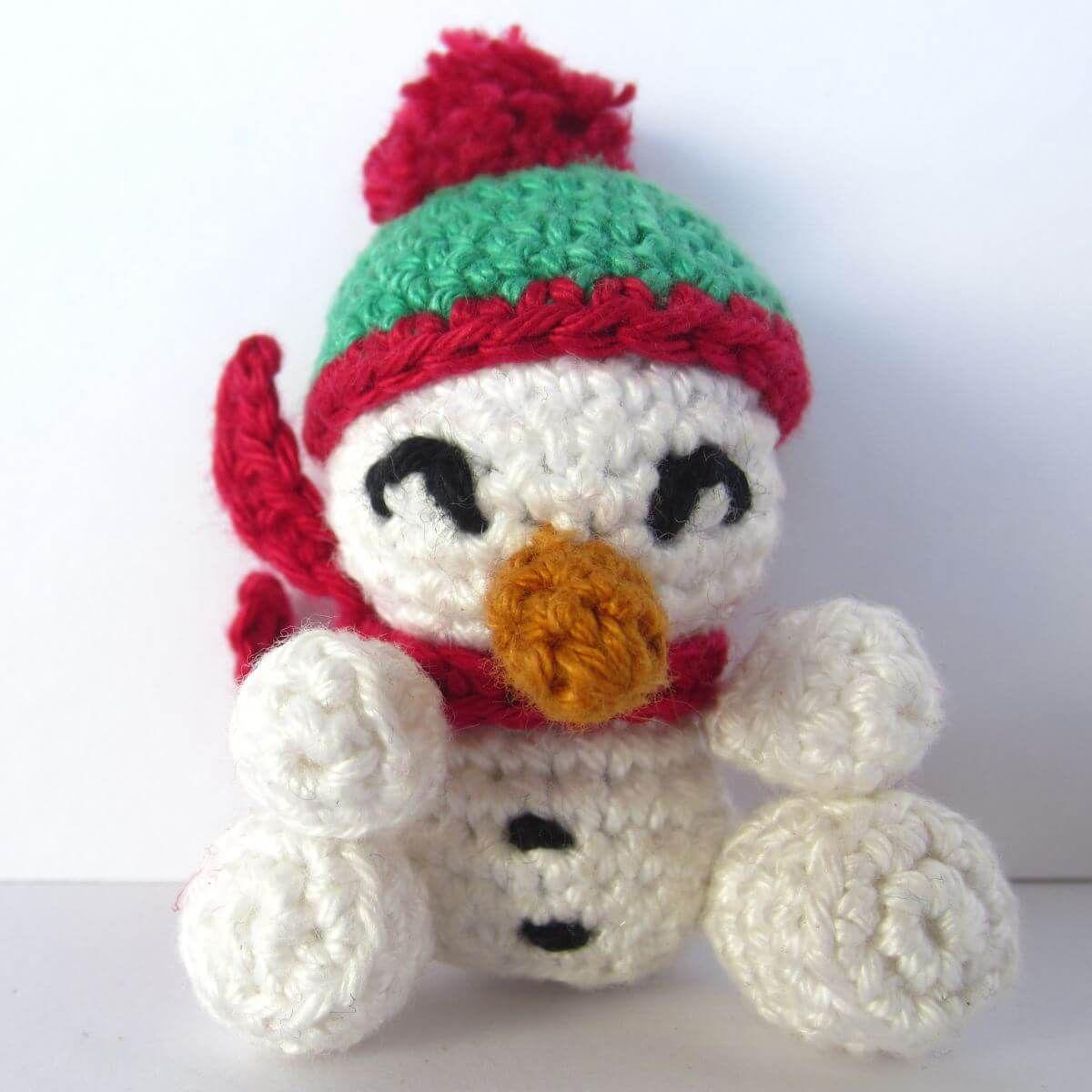 Der Schneemann, kühler und schweigsamer Freund an schneereichen ...